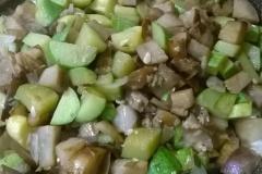 zucchine bio in padella