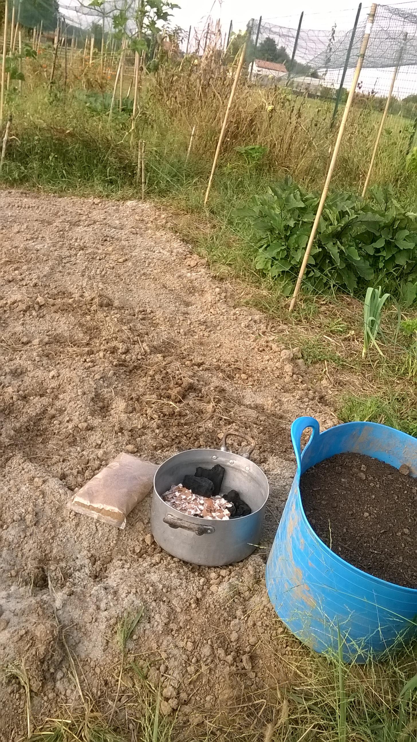 preparazione orto bio